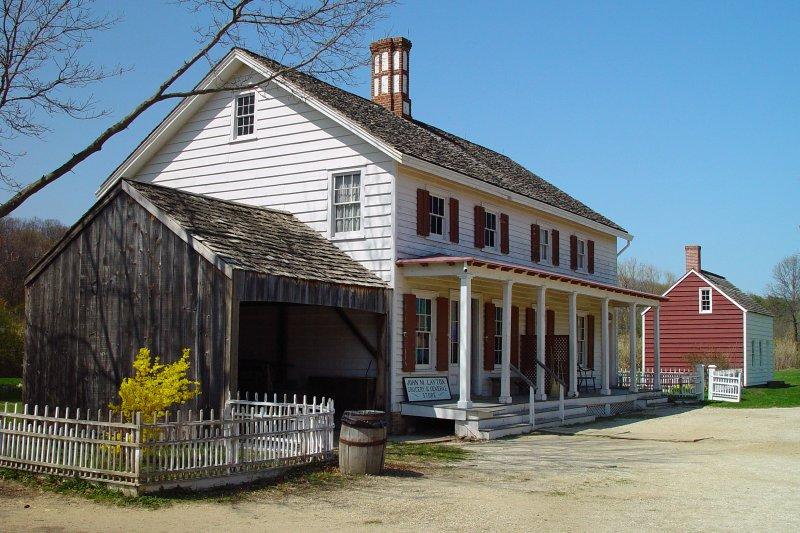 Layton Store & House (c. 1866)