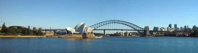 Sydney Opera House & Harbour Bridge Pano