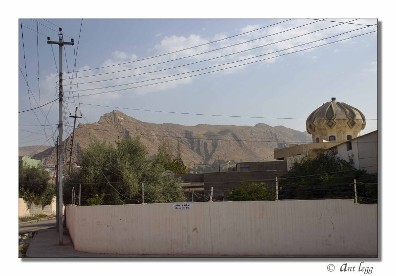 mountains and the mosque