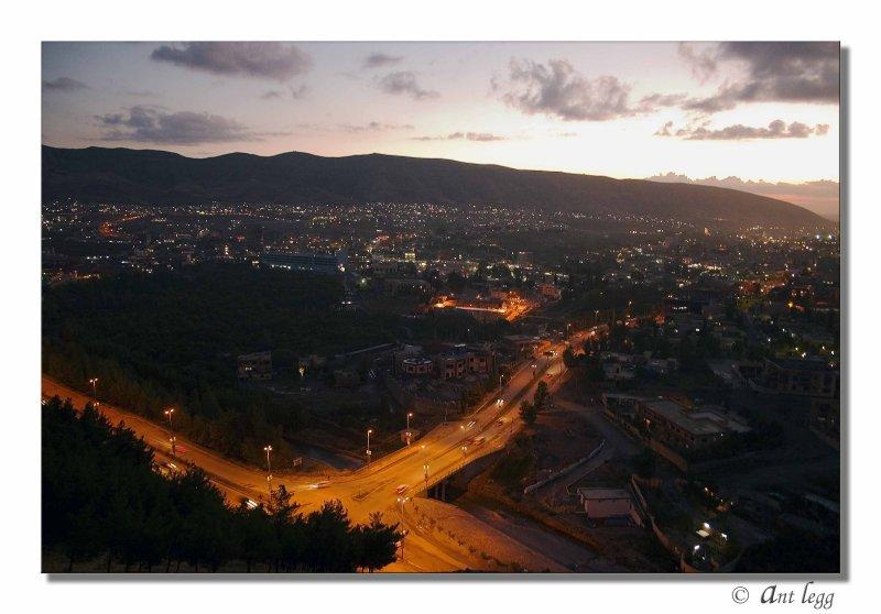 the bright lights of Dohuk city