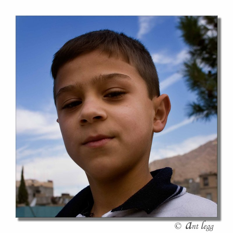 A young lad at the Zewa Centre