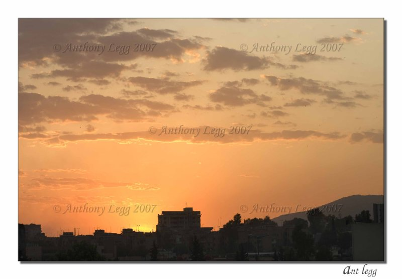 Afternoon View from our Balcony