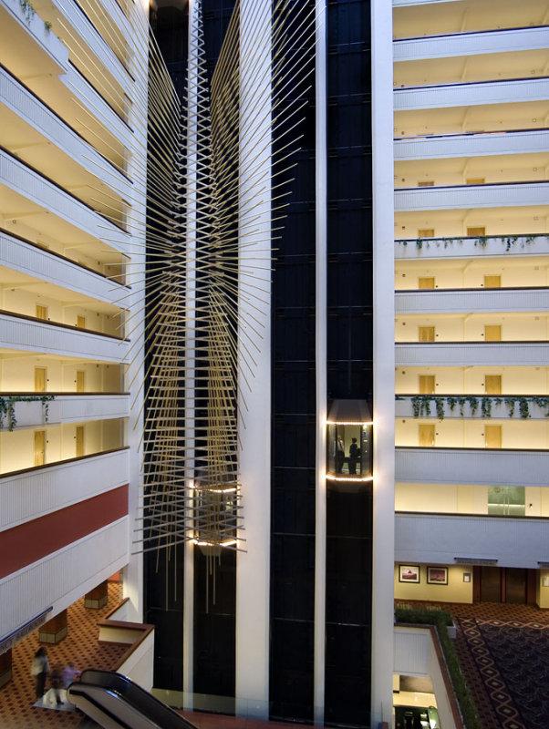 Milwaukee Hyatt Regency Atrium
