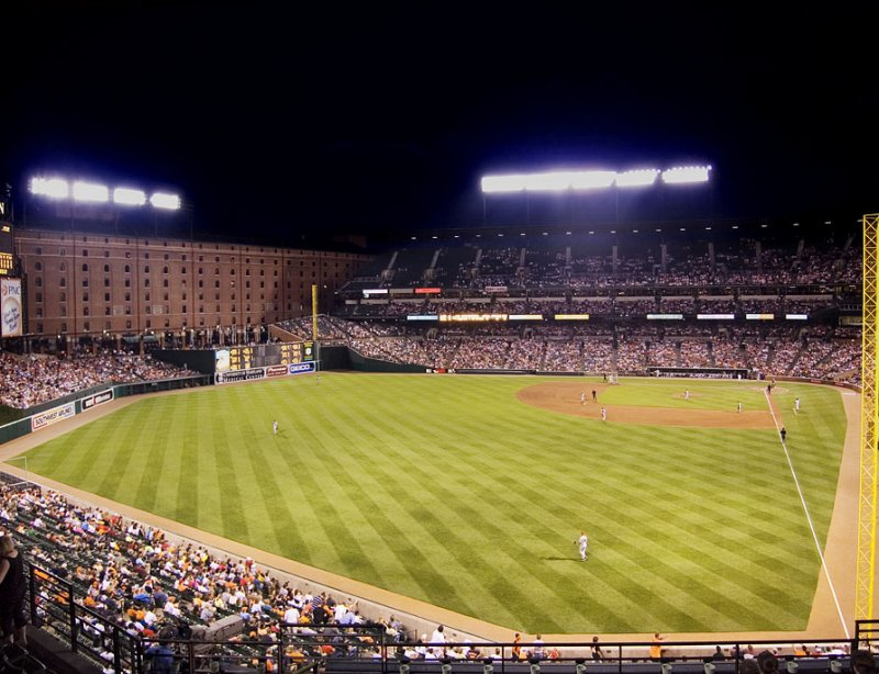 Night Game at Camden Yards