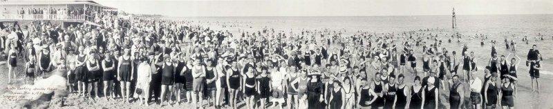 1921 - Winter Bathing at Smiths Casino on Miami Beach