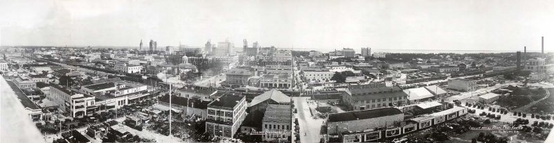 1925 - Central Business District in downtown Miami