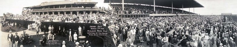 Derby Day at Hialeah Park in 1931