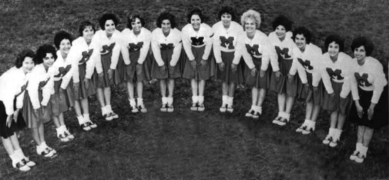 1963 - Miami High School Stingarees Cheerleaders (names below)