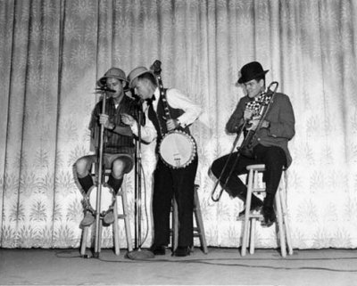 1960s - Captain Jack with Banjo Billy and Jumpin Jack OBrien