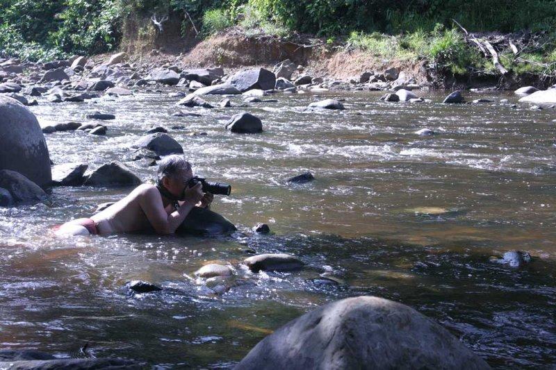 Nature Photographer at work