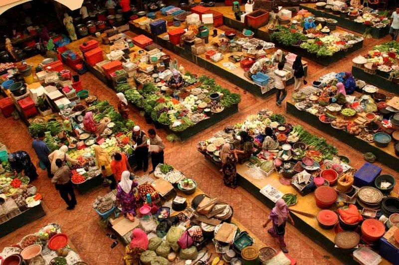 Kelantan market.