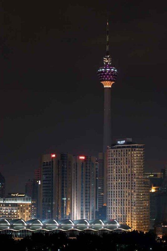 KL tower skyline