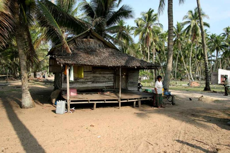 Rantau Abang-Fisherman hut