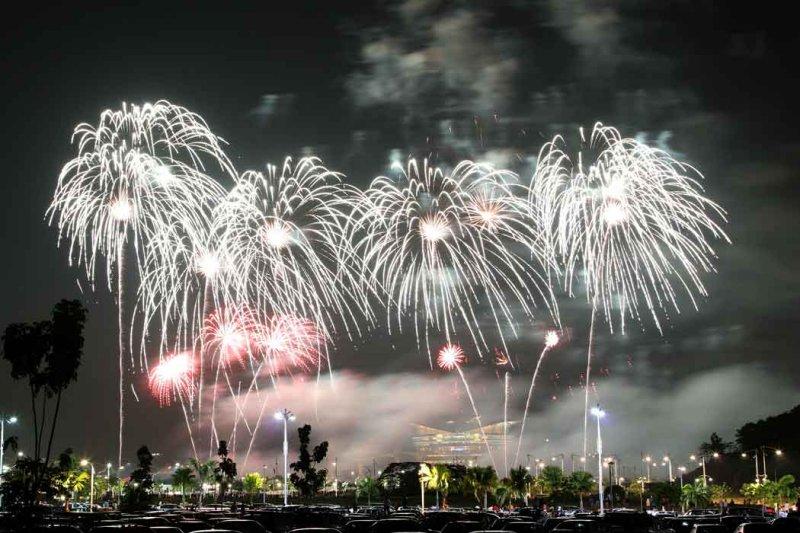 Putrajaya fireworks competition.
