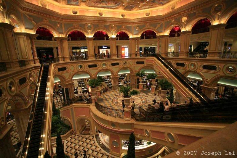The Venetian Hotel and Casino in Macau