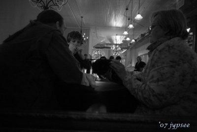 dining at Vic's