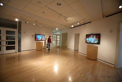 interactive techno gallery