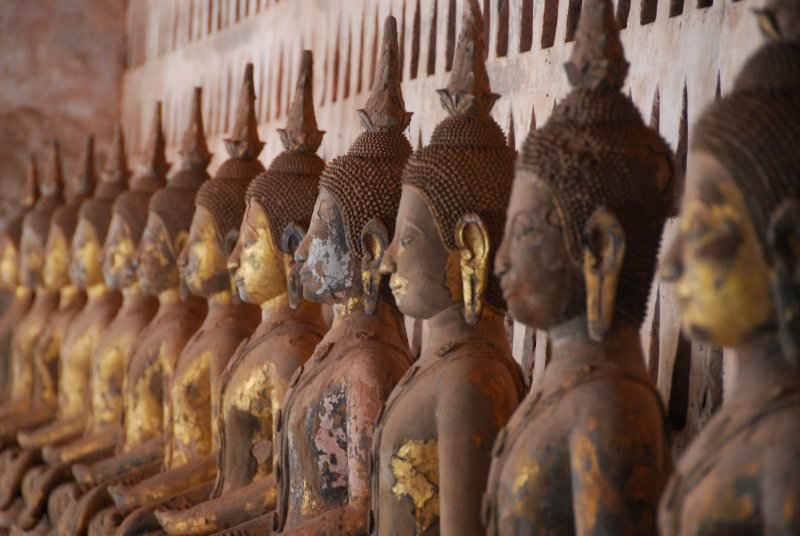 Wat Sisaket Buddhas