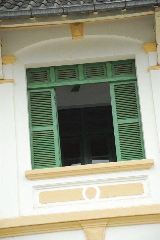 Luang Prabang French Colonial Window