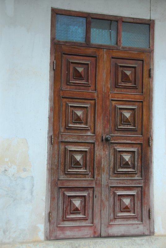 Luang Prabang Wooden Door