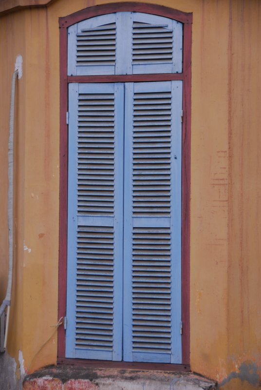 Luang Prabang Tall Blue Door