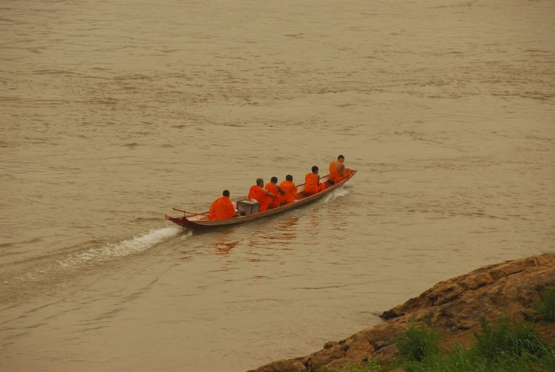 Monks on Mekong