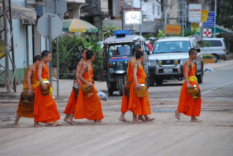 Why Do Monks Cross the Road?