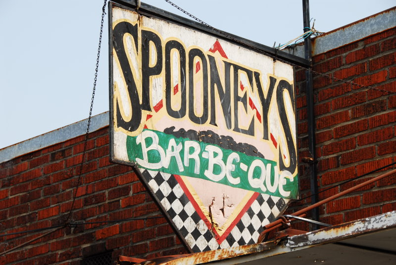 Greenwood-Spooneys Sign