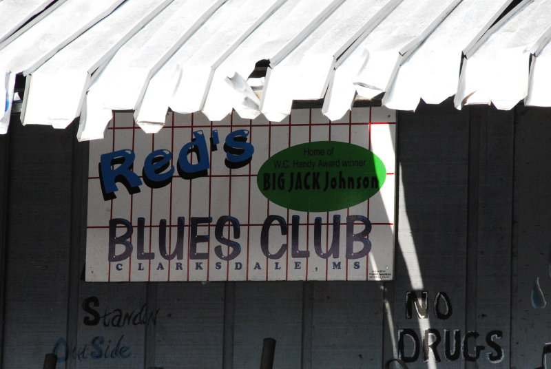 Clarksdale-Reds Sign
