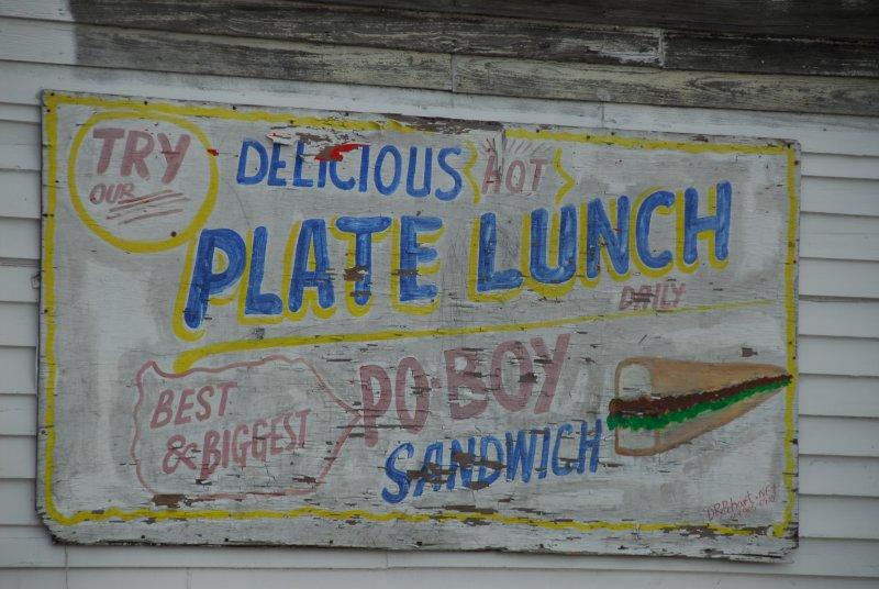 Plate Lunch (Elizabeths Cafe)