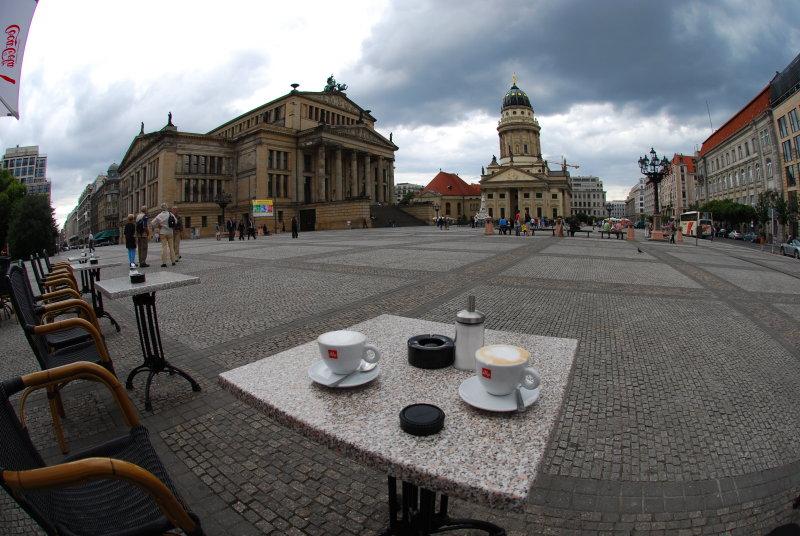 Gendarmarkt Cafe Berlin