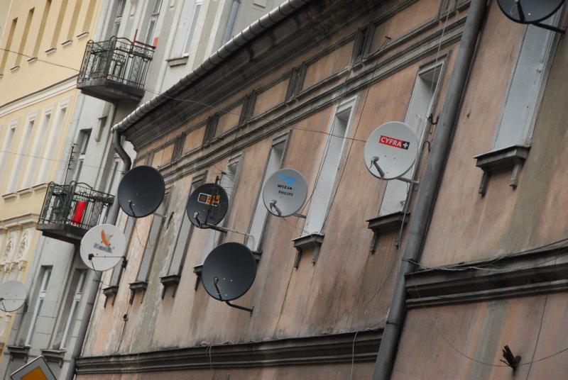 Satellite in Kazimierz