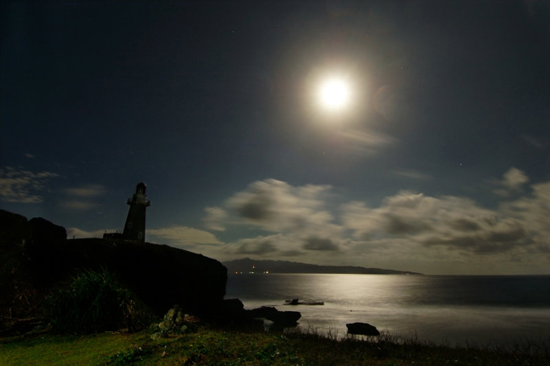 Moonlit Batanes
