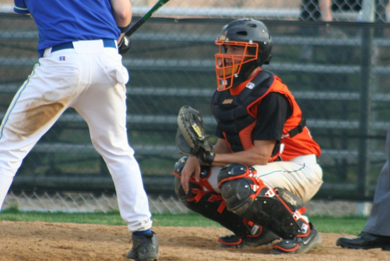 nick behind the plate