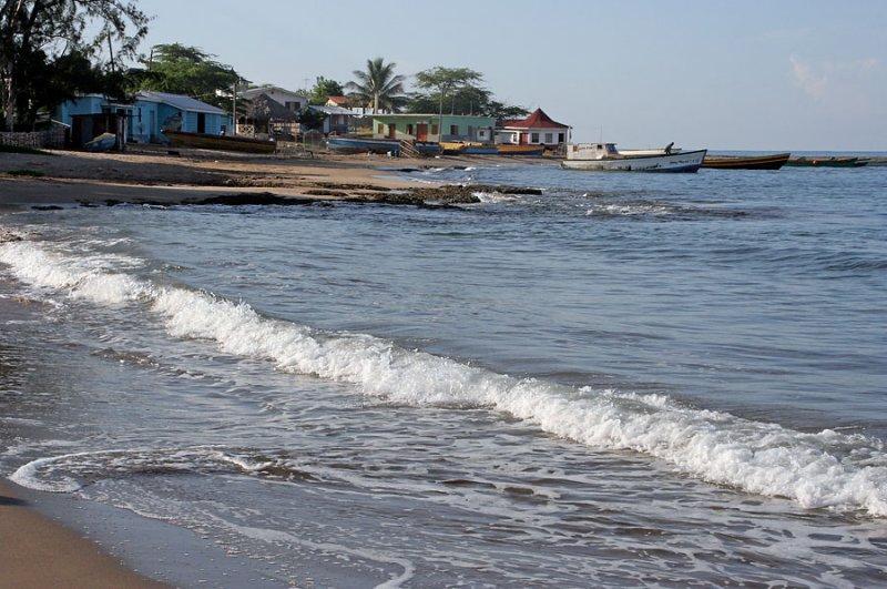 Early morning, Calabash Bay