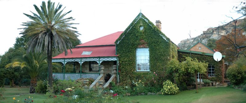 We changed in Boschfonteins gracious 100 year old homestead