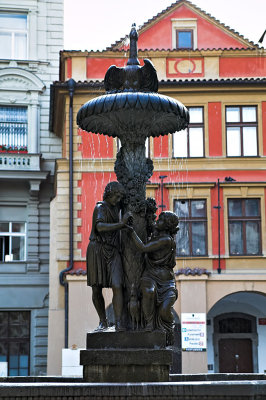 The fountain in Uhelný Trh