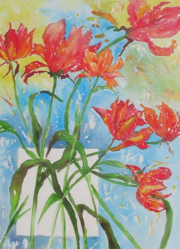 Valentines Bouquet £650  inc, frame