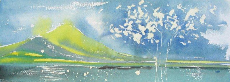 The Jade Sea; Lake Turkana - Sold