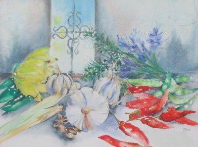 Garlic & Chillies