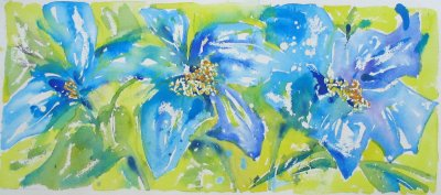 Himalayan poppy £85 SOLD
