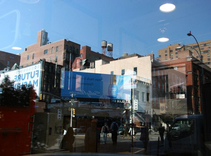 Window Reflections of Lafayette/Bond Street Intersection