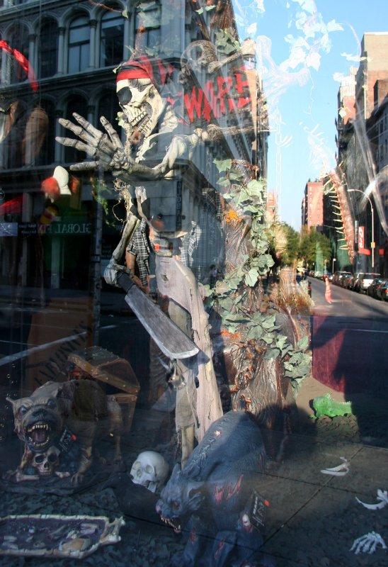 Pirates & Beasties - NY Costume Store Window