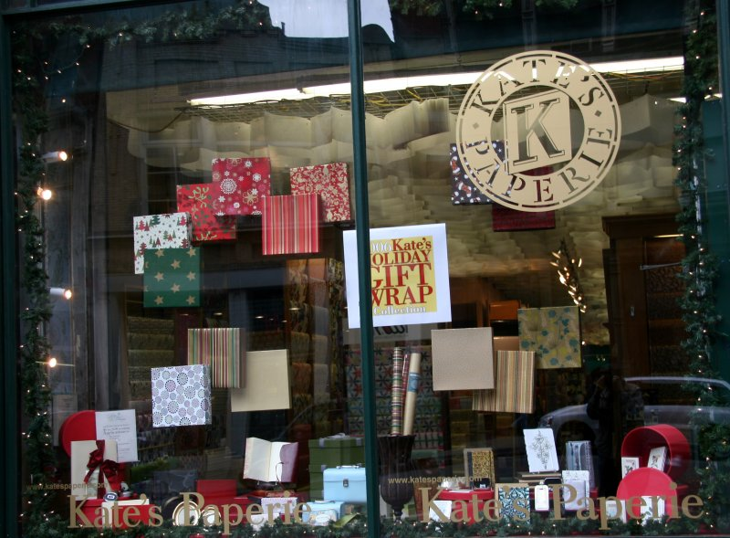 Gift Wrappings - Kates Paperie Window