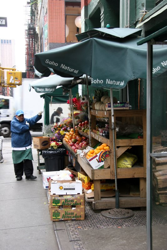 Spring Street Fruit & Vegetable Stand