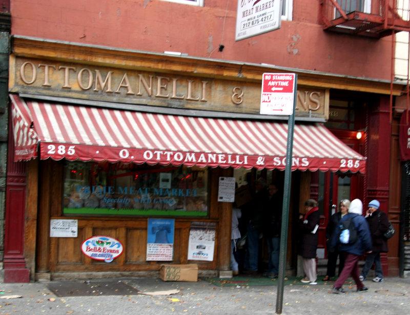 Ottomanelli Meat Market - Picking Up the Thanksgiving Turkey