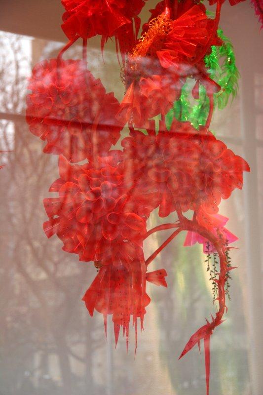 Winter Holiday Decorations - NYU Gallery Window