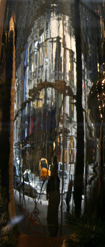 Vase Reflections - Banana Republic Window