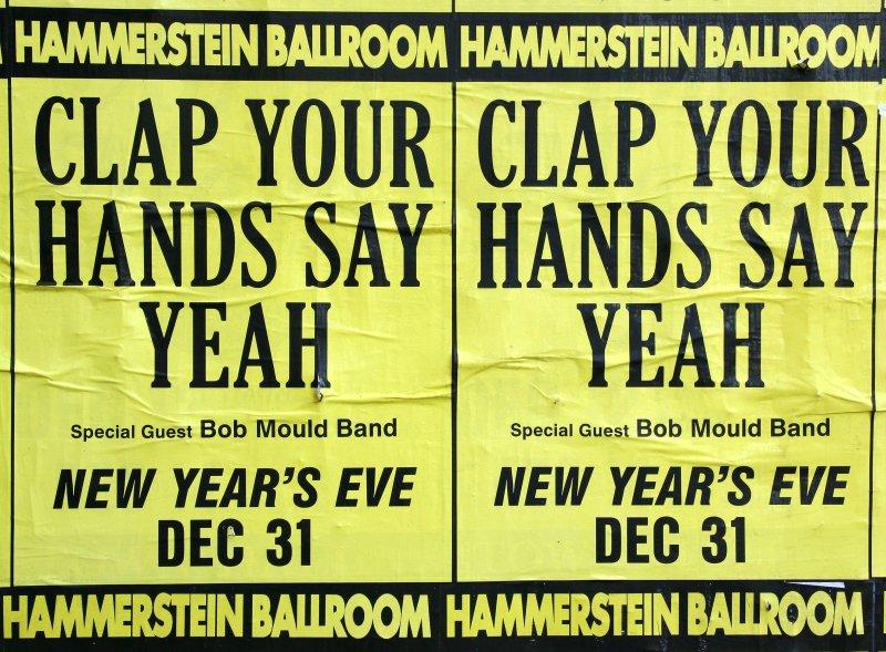 Hammerstein Ballroom New Years Eve Poster