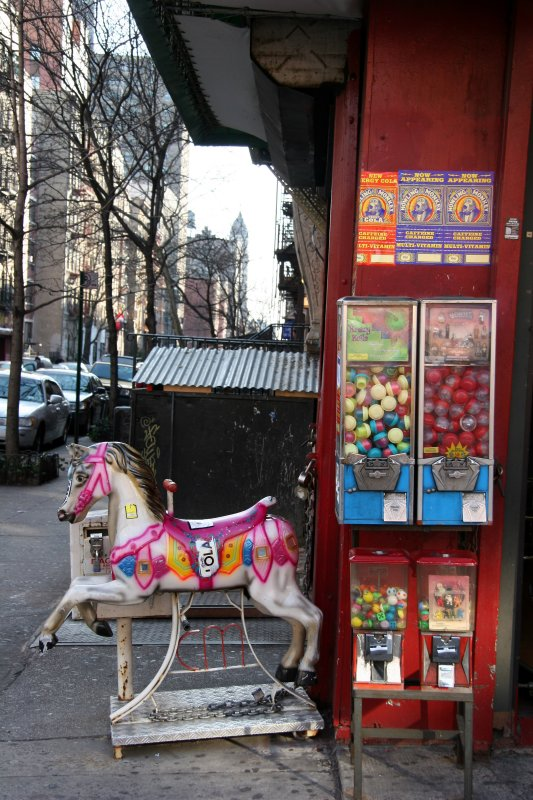 Candy & Novelty Store on 3rd Street - East View